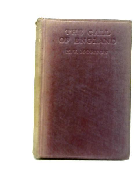 The Call of England By H. V Morton