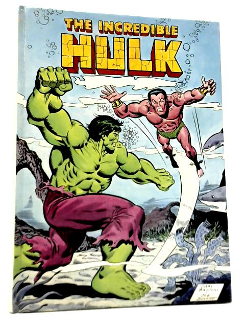 The Incredible Hulk Annual 1978 By Stan Lee