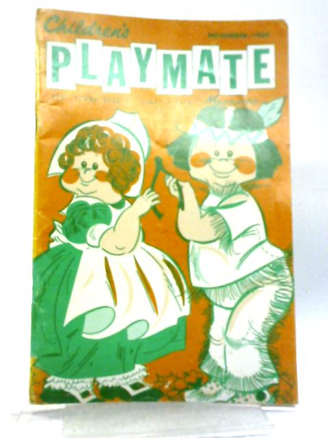 Children's Playmate Magazine 1969 Volume 41, Number 5 By Various