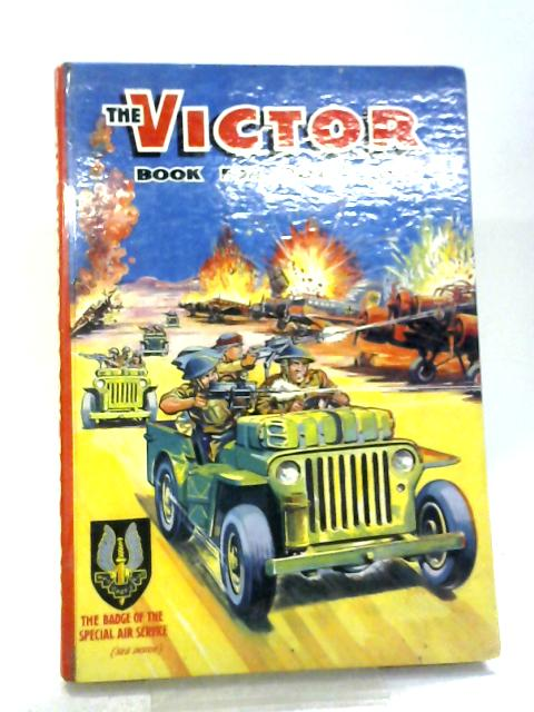The Victor Book for Boys 1971 By Unknown