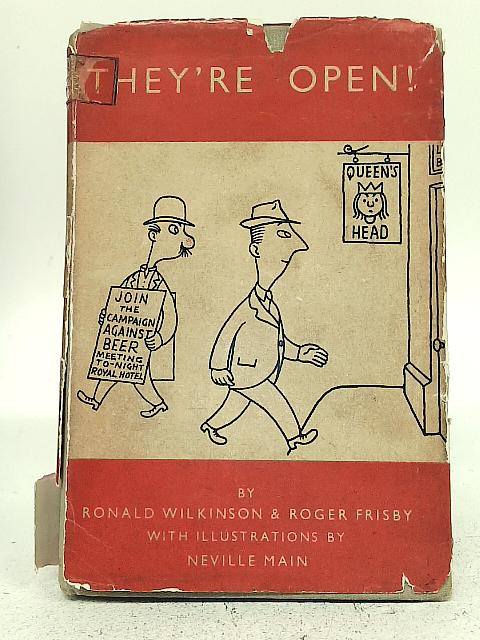 They're open By Ronald Wilkinson Roger Frisby