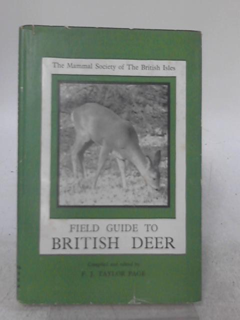 Field Guide to British Deer By Frederick James Taylor Page