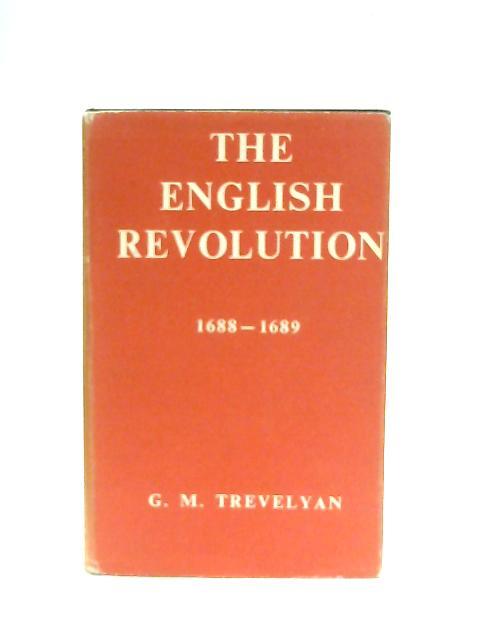 The English Revolution By G. M. Trevelyan