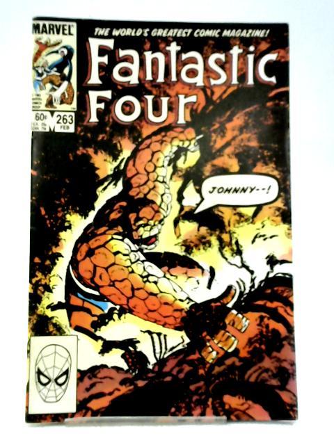 Fantastic Four #263 (Feb 1984) By Marvel Comics
