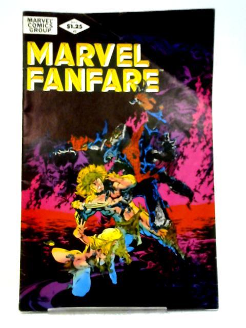 Marvel Fanfare (Vol 1) # 2 (Ref923933040) By Marvel Comics