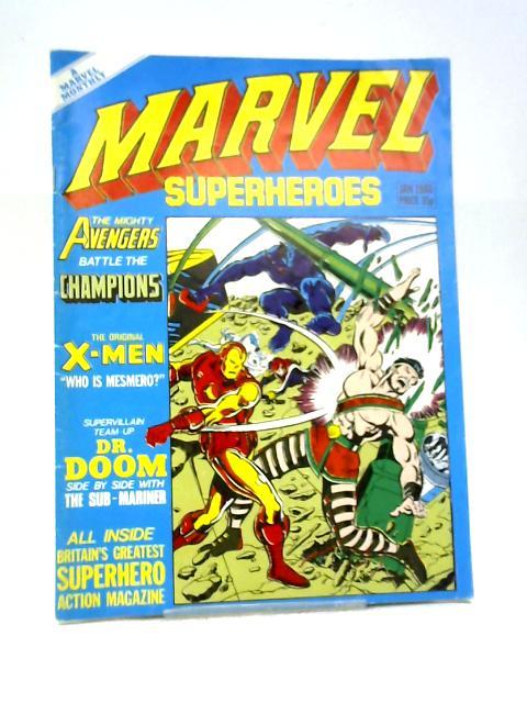 Marvel Superheroes #357 By Marvel