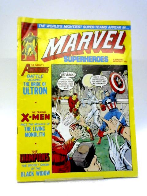 Marvel Superheroes #364 By Marvel Comics