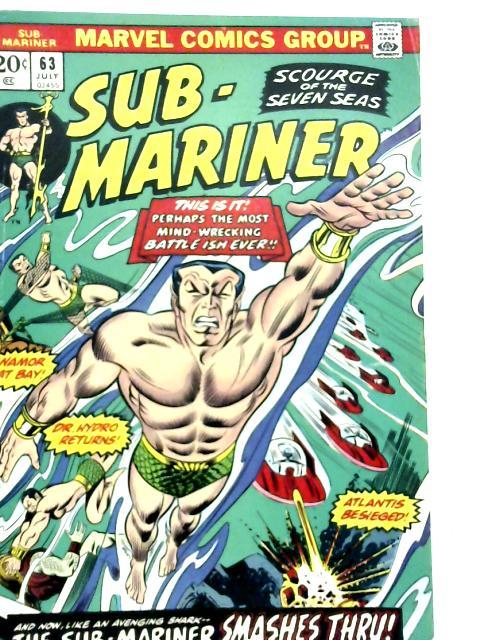 Sub-Mariner Vol 1 No 63 By Various