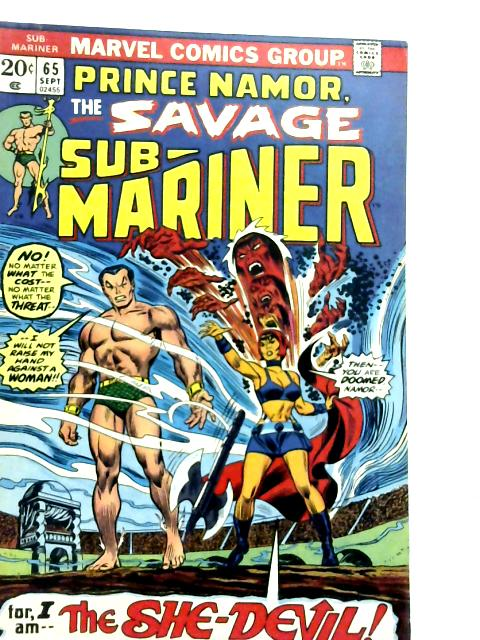 Sub-Mariner Vol 1 No 65 By Various