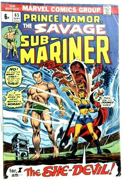 Sub-Mariner Vol 1 No 65 By Various