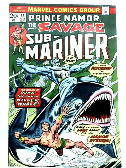 Sub-Mariner Vol 1 No 66 By Various