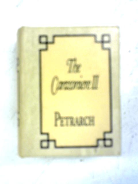 The Canzoniere II By Petrarch
