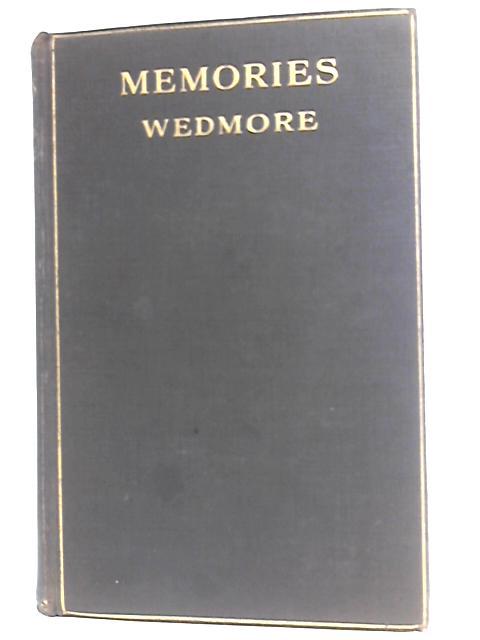 Memories By Frederick Wedmore