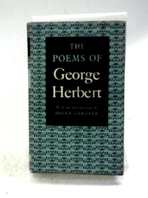 Poems (World's Classics S.) By George Herbert