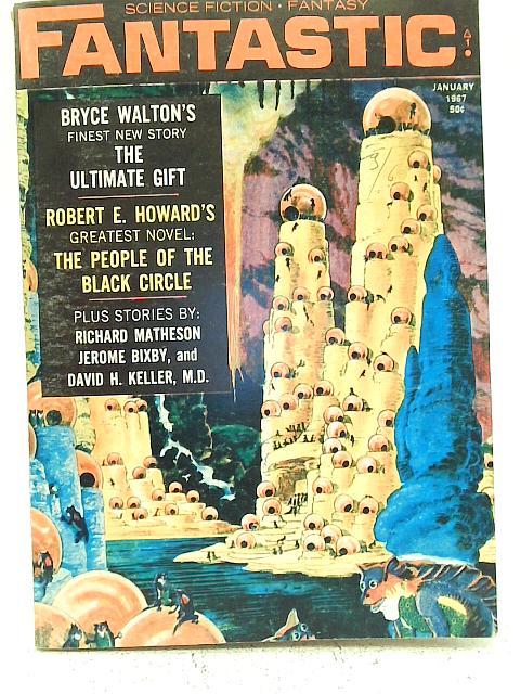 Fantastic Vol 16 No 3 January 1967 By Various