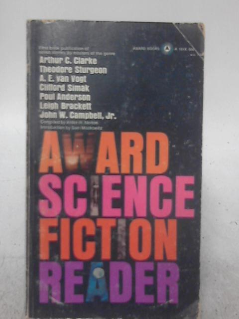 Award Science Fiction Reader By Alden H. Norton