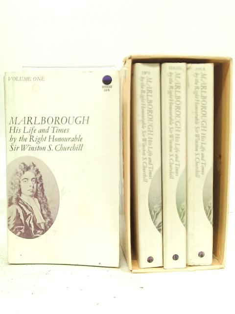 Marlborough, His Life and Times 4 Volumes By Winston Churchill
