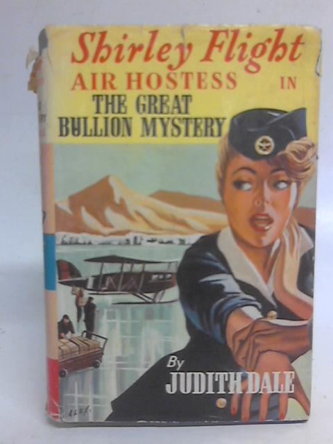 Shirley Flight Air Hostess in The Great Bullion Mystery By Judith Dale
