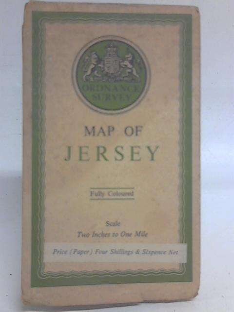 Ordnance Survey Map of Jersey, Two Inches to One Mile 1:31860 By Ordnance Survey