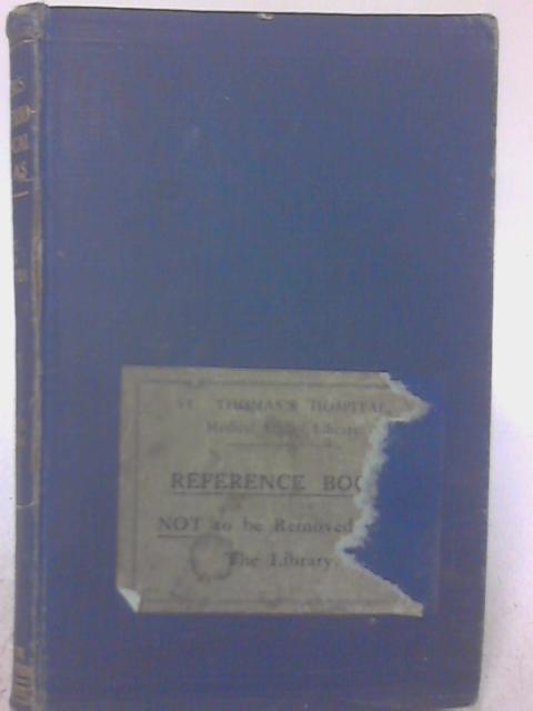 Muir's Bacteriological Atlas By C. E. Van Rooyen