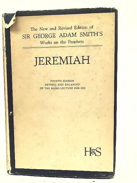 Jeremiah By G A Smith