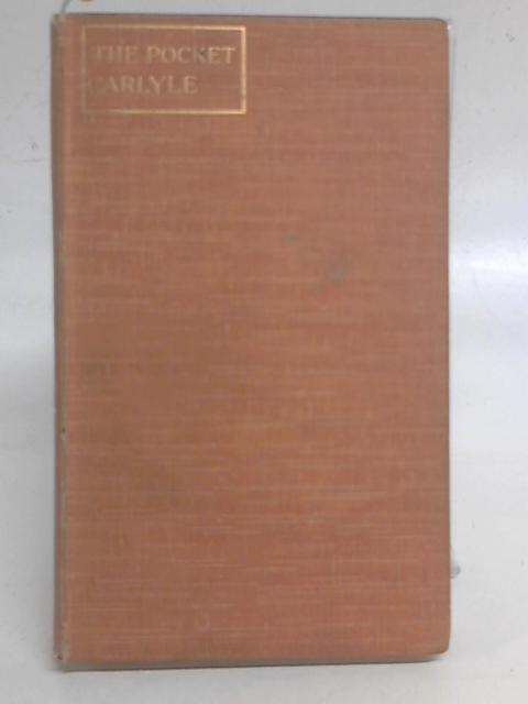 The Pocket Carlyle By Rose Gardner (ed.)