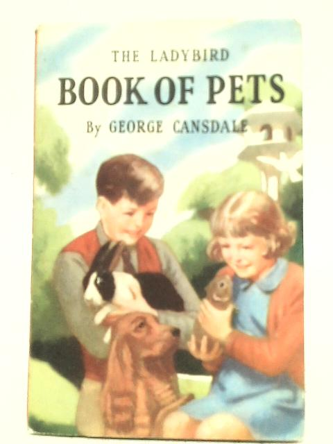 Book of Pets By George Cansdale