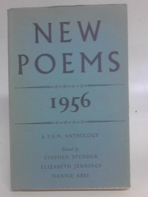 New Poems 1956: P.E.N. Anthology By Various Editors