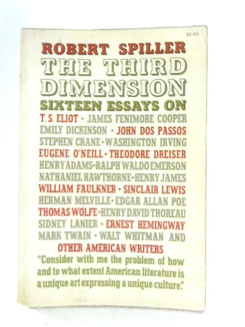 The Third Dimension By Robert Spiller