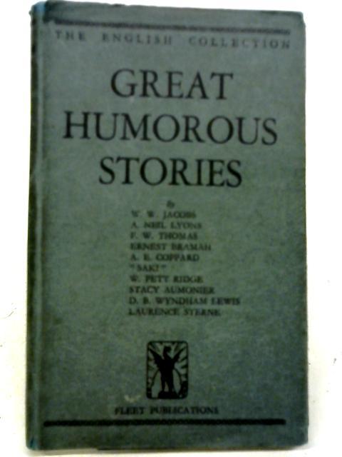 Great Humorous Stories By Harold Herd