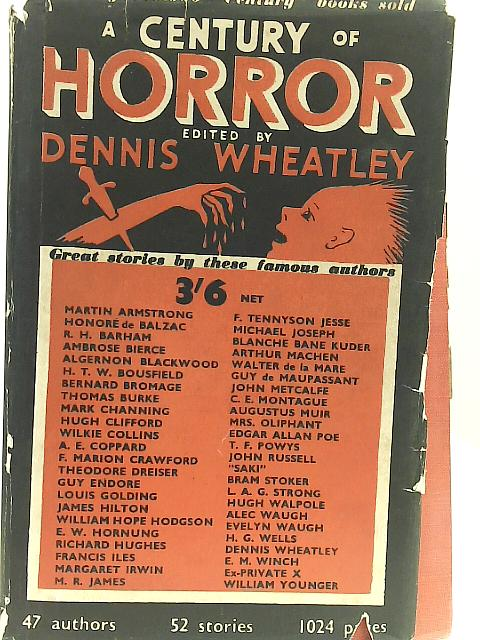 A Century of Horror Stories By Unstated