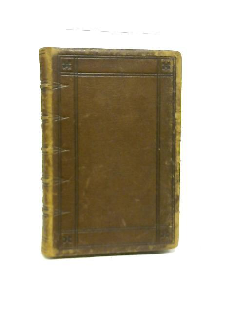 The Book of Common Prayer, and Administration of the Sacraments, and Other Rites and Ceremonies of the Church Together With the Psalter or Psalms of David By Various