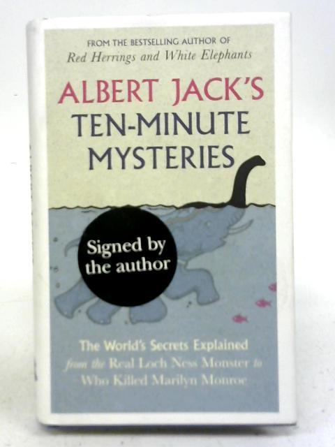 Albert Jack's Ten-Minute Mysteries By Albert Jack