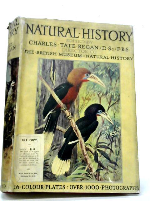 Natural History By C. T Regan