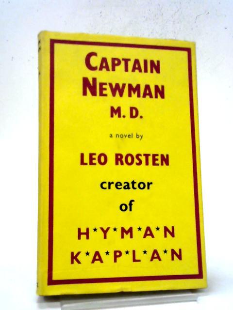 Captain Newman By Leo Rosten