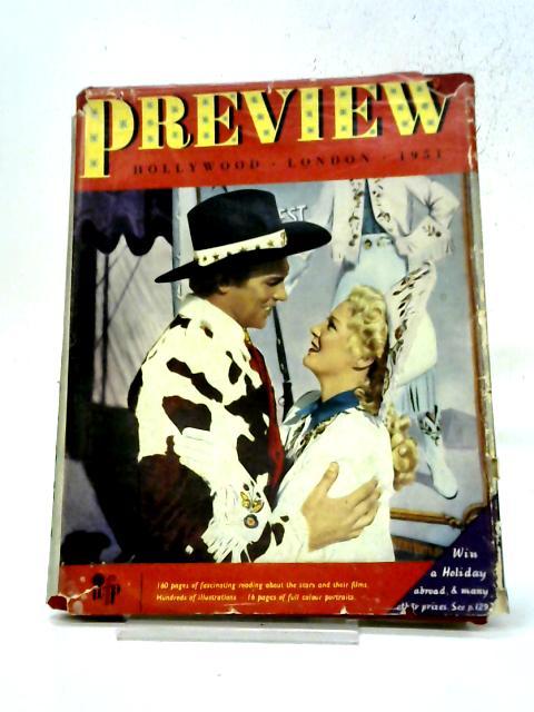 1951 Preview Film Album: Hollywood-London. By World Film Publications Ltd.