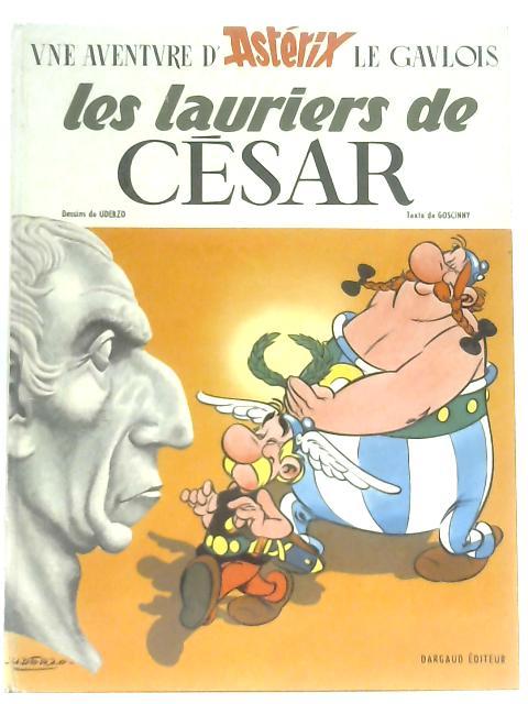 Une Aventure D'Asterix: Les Lauriers De Cesar By Goscinny, Uderzo