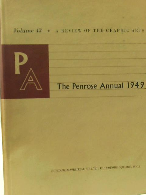 The Penrose Annual 1949 By R. B. Fishenden