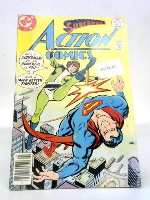 Superman's Action Comics Vol. 40, No. 472 By DC Comics