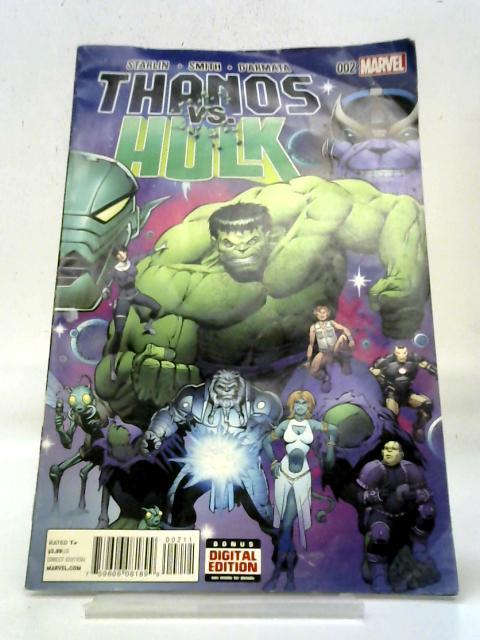 Thanos Vs Hulk No 2 March 2015 By Various