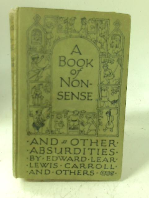 A Book Of Nonsense By Edward Lear et al