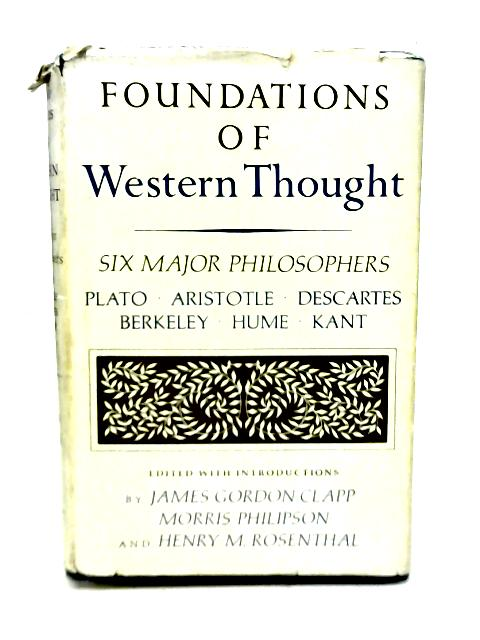 Foundations of Western Thought By Various