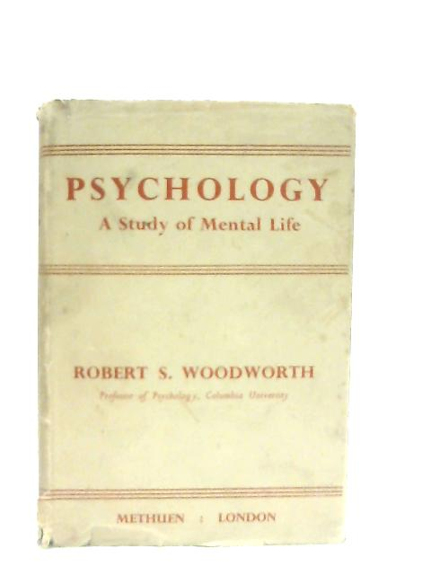Psychology By Robert S. Woodworth