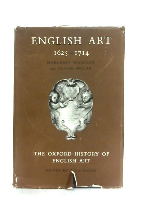 English Art 1625-1714 By M. Whinney & O. Millar