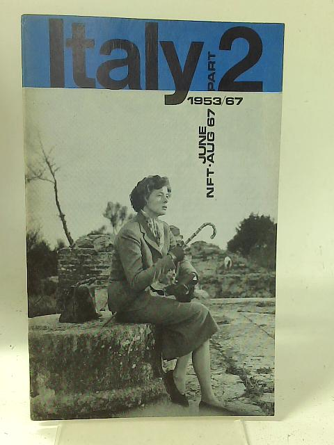 """National Film Theatre: June-August 1967 """"Italy 2"""" By Unstated"""