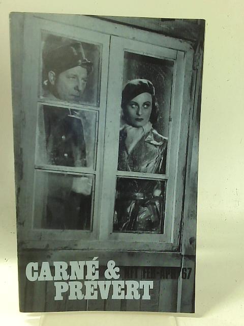 National Film Theatre: Feb-Apr '67 - Carné & Prévert By Unstated