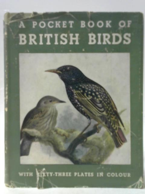 A Pocket Book of British Birds By Charles A. Hall