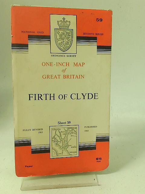 Ordnance Survey Sheet 59 Firth of Clyde By Ordnance Survey