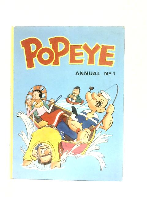 Popeye Annual No. 1 By Anon