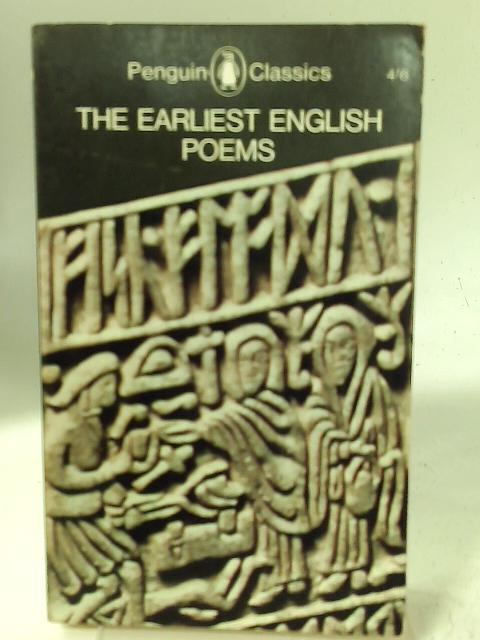 The Earliest English Poems. By Michael Alexander (Trans & Intro.).